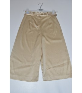 PANTALON ANCHO COLOR CHAMPAGNE